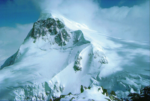 Close up of Breithorn