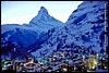 Zermatt evening  #CD2-79 - 96�KB