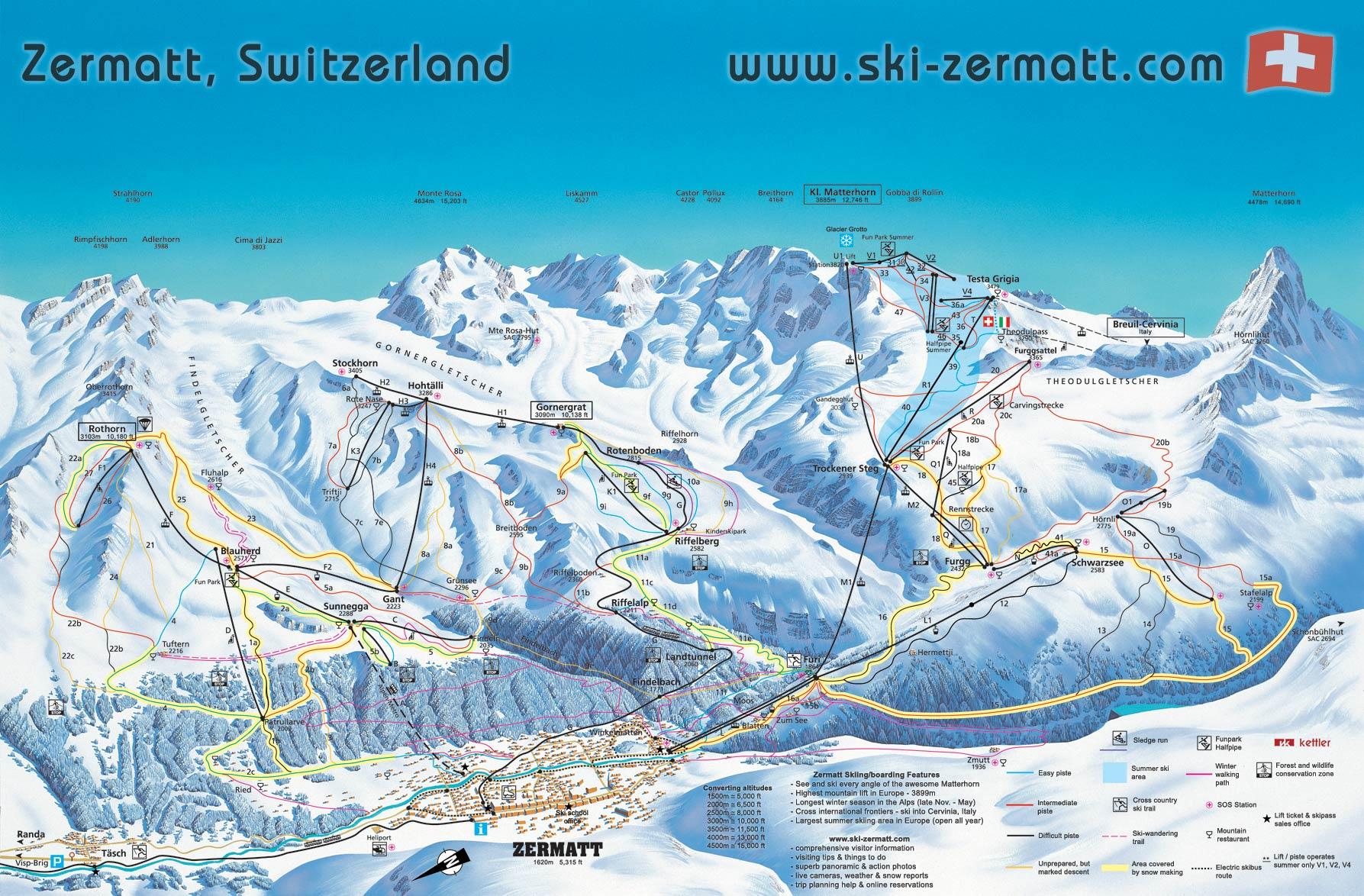 Photo courtesy of ski-zermatt.com