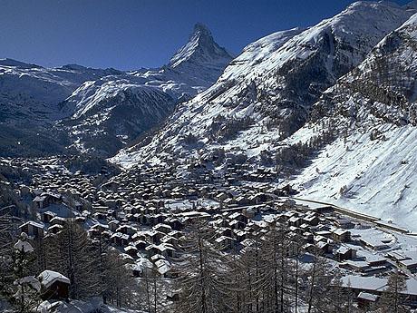 Zermatt Scenic Winter Photos